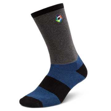 New Balance Boroughs Sock, Blue