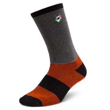 New Balance Boroughs Sock, Orange