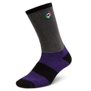 New Balance Boroughs Sock, Purple