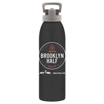 New Balance Brooklyn Half Waterbottle, Grey