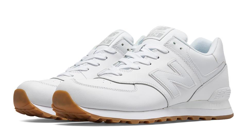 New Balance 574 Blanc