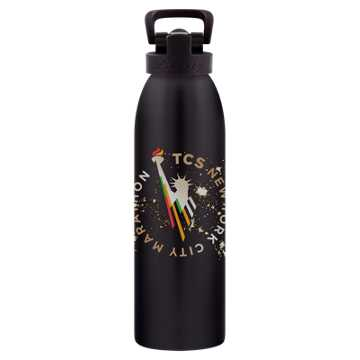 New Balance NYC Marathon 24 Oz Waterbottle, Black