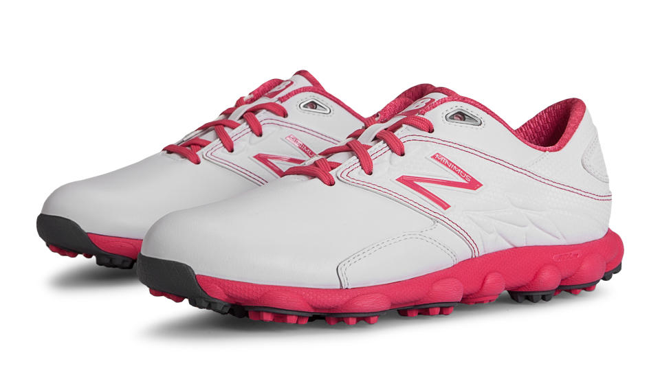 Womens Shoes New Balance Golf Minimus LX Komen/White/Pink