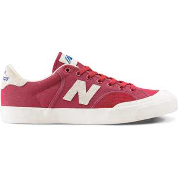 New Balance Pro Court 212, Red with Sea Salt