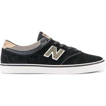 New Balance Quincy 254, Black with Military Foliage Green