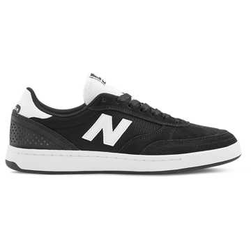 New Balance 440, Black with White