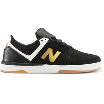New Balance PJ Ladd 533 v2, Black with White & Gold