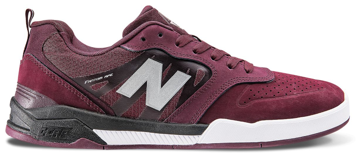NB 868, Chocolate Cherry with Black