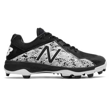 New Balance TPU Pedroia 4040v4, Black with Camo Green