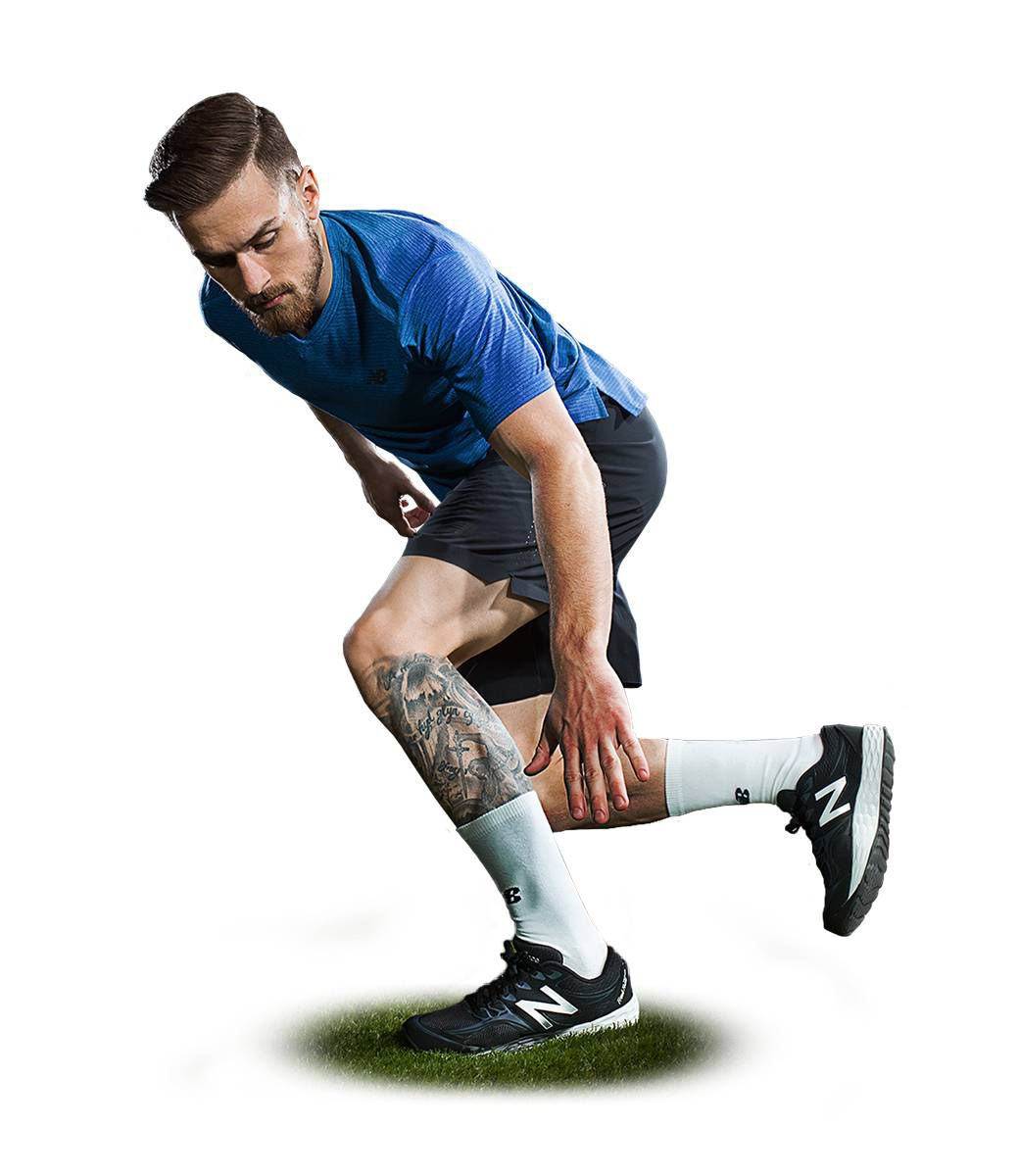 New Balance Mens Soccer Hub Train Hard Look,