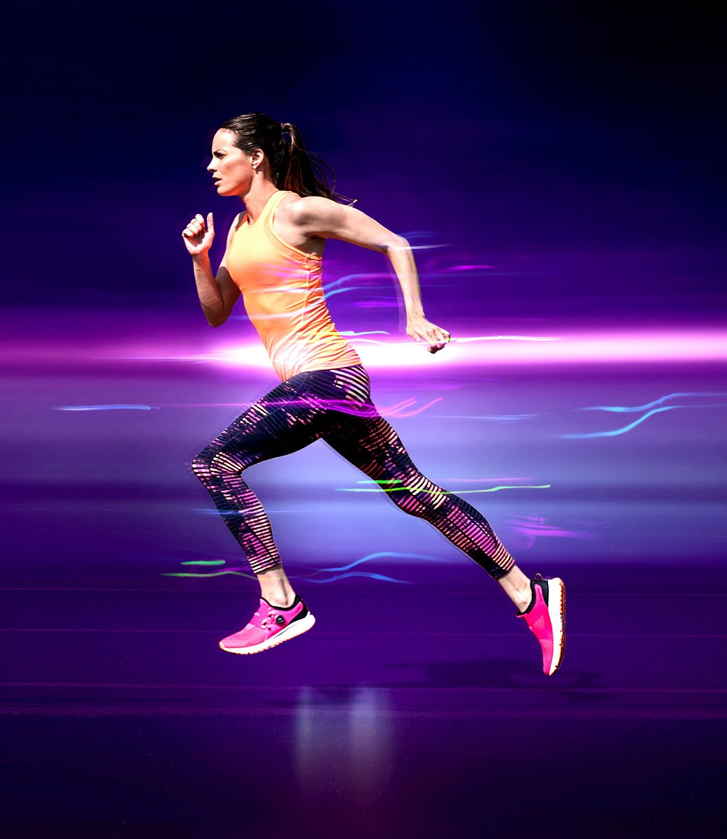 New Balance Womens Fuel Sonic and Performance Look,