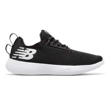 New Balance NB RCVRY, Black with White