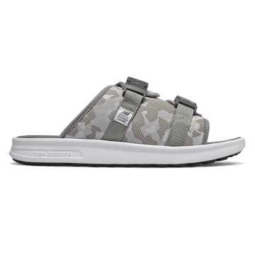 New Balance 男女同款凉鞋 舒适缓震, 迷彩灰