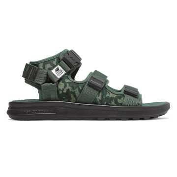 New Balance 男女同款凉鞋 舒适缓震, 迷彩榄