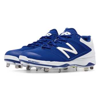 Women\u0027s Softball. Expand. New Balance Metal 4040v1, Royal Blue with White