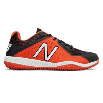New Balance Turf 4040v4, Black with Orange