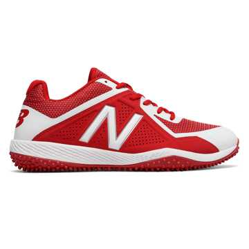 New Balance Turf 4040v4, Red with White