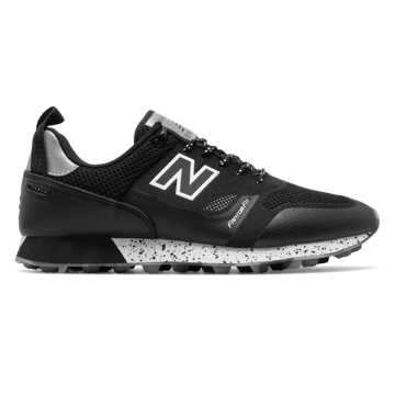 New Balance Trailbuster Re-Engineered, Black with Steel