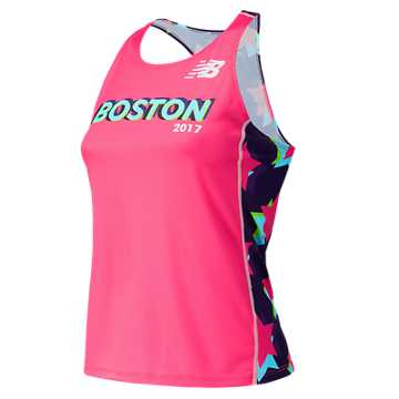 New Balance Boston Singlet, Alpha Pink
