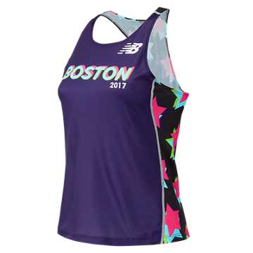 New Balance Boston Singlet, Purple