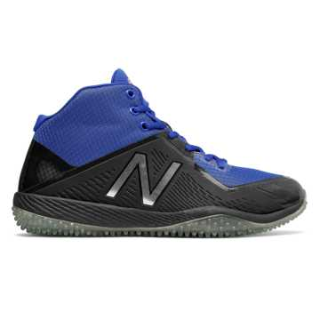 New Balance New Balance x Stance Turf 4040v4, Black with Royal Blue