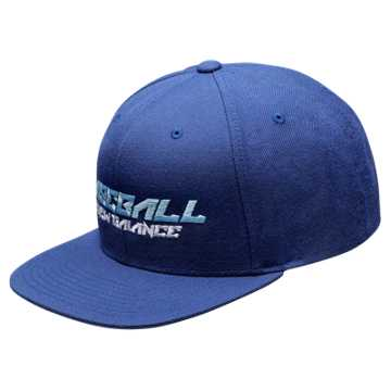 New Balance Baseball Splatter Snap Back, Team Navy
