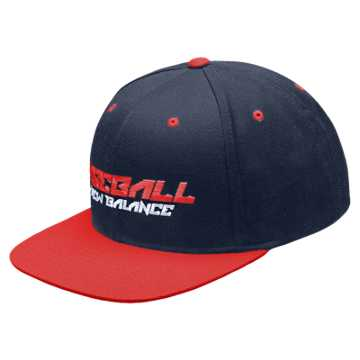 New Balance Baseball Splatter Snap Back, Team Royal