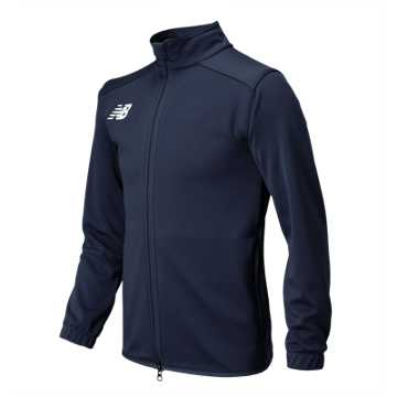 New Balance NB Knit Training Jacket, Navy