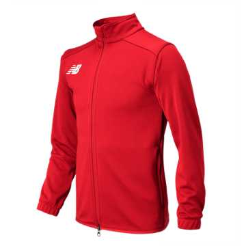 New Balance NB Knit Training Jacket, Red