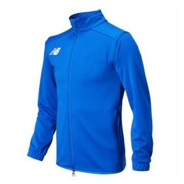 New Balance NB Knit Training Jacket, Royal Blue