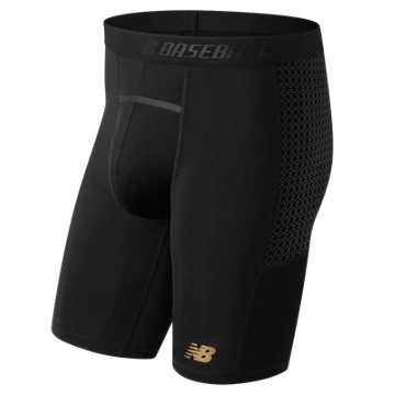 New Balance 4040 Compression Slider Short, Team Black