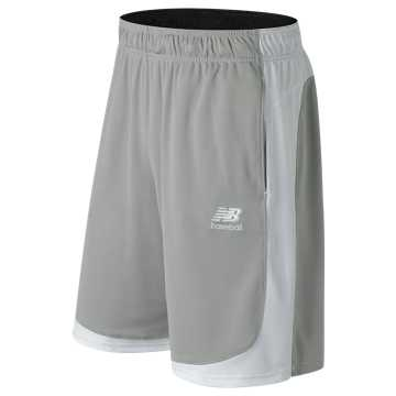 New Balance Baseball Training Short, Light Grey
