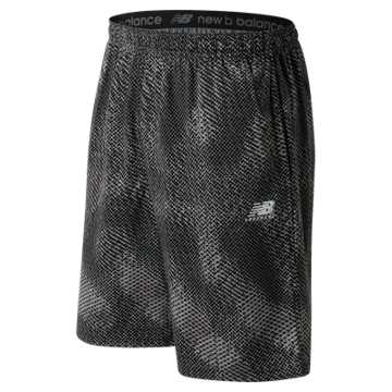 New Balance Lacrosse Pattern Short, Black