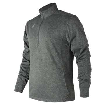 New Balance NB Half Zip, Dark Heather