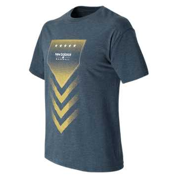 New Balance Baseball Admirals Star Tee, Aviator