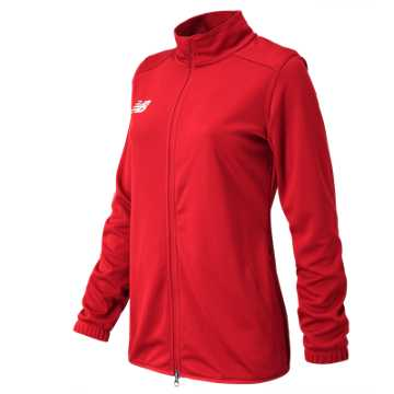 New Balance NB Knit Training Jacket, Team Red