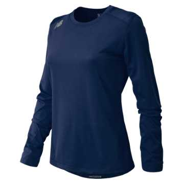 New Balance NB Long Sleeve Tech Tee, Team Navy