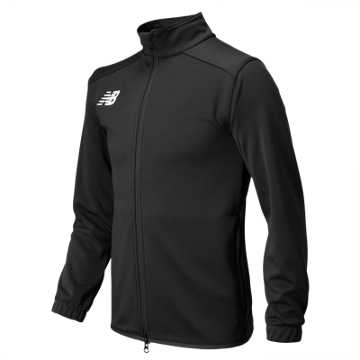 New Balance Jr NB Knit Training Jacket, Team Black