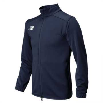 New Balance Jr NB Knit Training Jacket, Team Navy