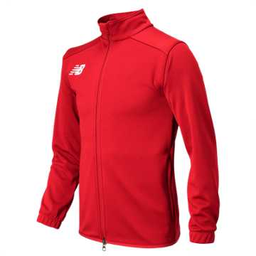 New Balance Jr NB Knit Training Jacket, Team Red