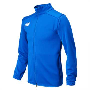 New Balance Jr NB Knit Training Jacket, Team Royal