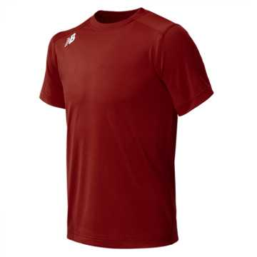 New Balance Jr NB SS Tech Tee, Team Red