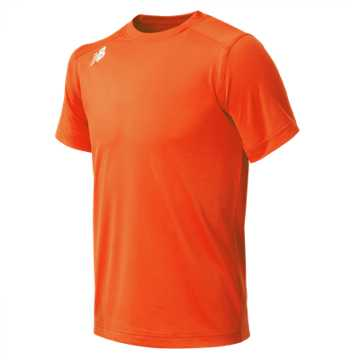 New Balance Jr NB SS Tech Tee, Team Orange