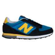 NB New Balance 430, Black with Blue & Yellow