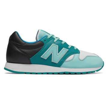 New Balance 520 NewBalance x HANON联名款 中性款 复古休闲 耐磨舒适, 湖蓝色/薄荷绿/白色
