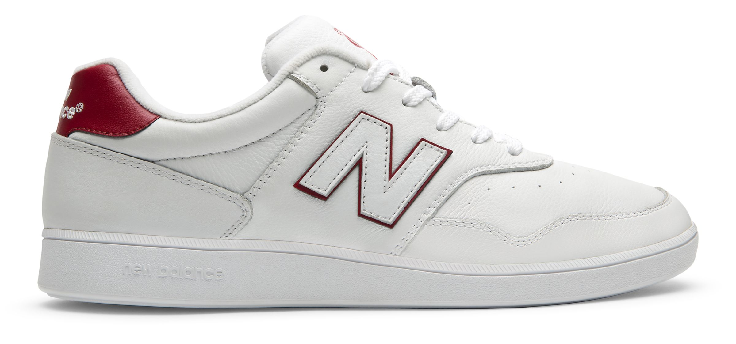 NB 288 New Balance, White with Red