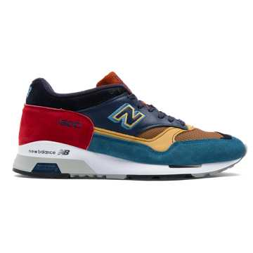 New Balance 1500 Made in UK Yard, Teal with Navy & Red