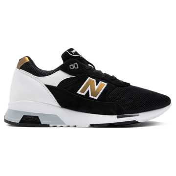 New Balance 1991 Made in the UK, Black with White