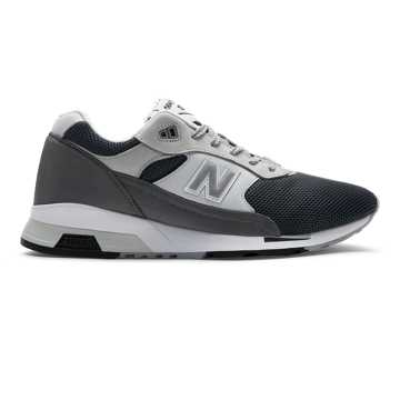 New Balance Made in UK 1991, Charcoal with Black