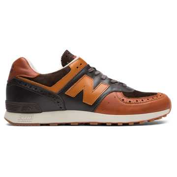 New Balance Grenson x New Balance 576, Brown with Tan